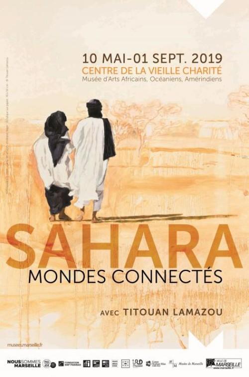 Affiche exposition à la vieille charité à Marseille