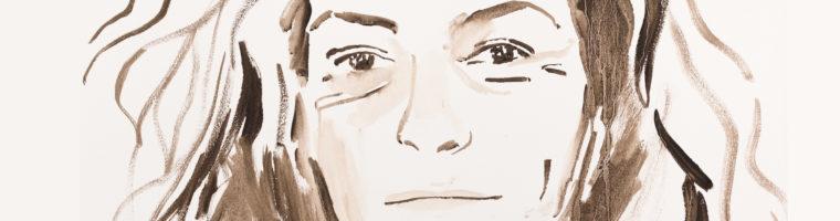 Florence Arthaud par Titouan Lamazou